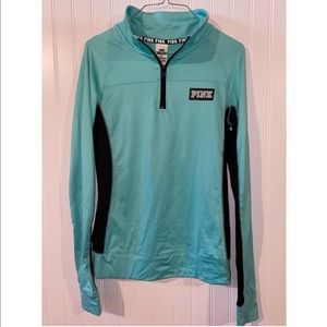 PINK athletic 1/4 zip LIKE NEW